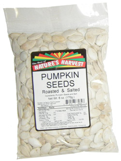 Pumpkin Seeds, Snow White, Roasted & Salted