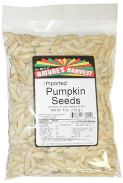 Pumpkin Seeds, Imported Lady Nails, Roasted & Salted