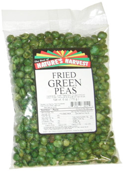 Green Peas, Fried & Salted