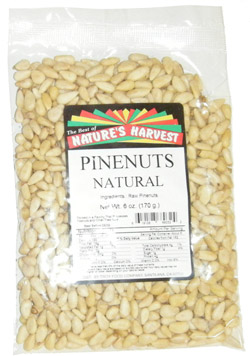 Pine Nuts, Raw, Imported Chinese